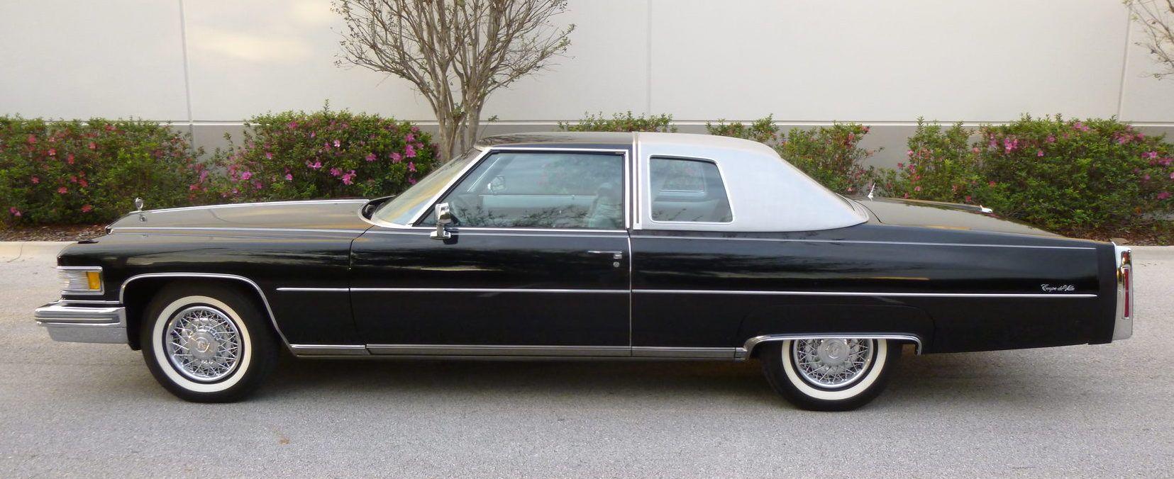 Pin On 1974 76 Cadillac Calais Deville