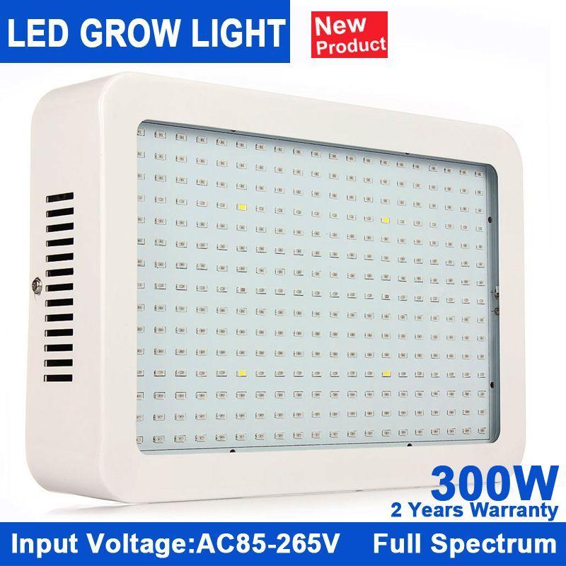 Kindomled Full Spectrum 300w Led Grow Light Red Blue White Uv Ir Ac85 265v Smd5730 Led Plant Lamp Best For Growing And Flowerin Led Grow Lights Grow Lights Led