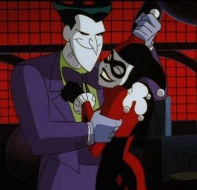 Joker and Harley, twisted but awesome. I loved this cartoon series.
