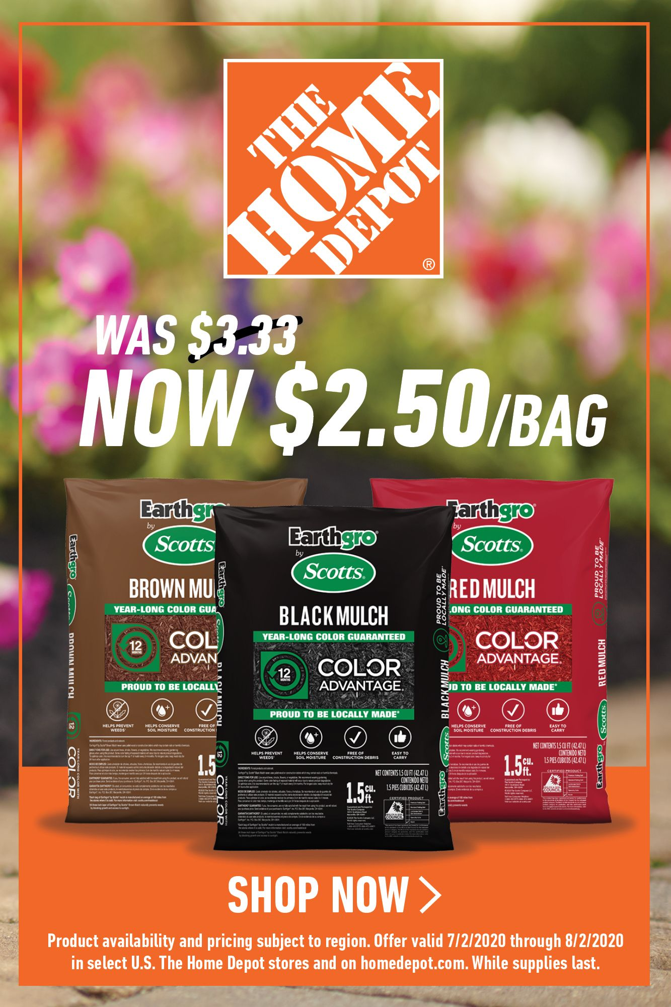 Its mulch time at the home depot in 2020 black mulch
