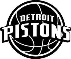 Detroit Pistons Logos On Pinterest Black White Logos
