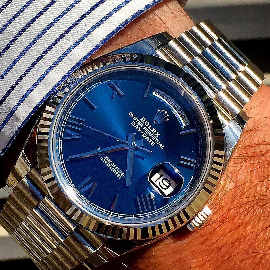 DAYDATE 40 #wristshot #rolexero #mondani #wwatches #rolexwrist #mens#menfashion #menstyle #gent#menstagram #menstyleguide #mensweardaily #mensaccessories #womw #wruw #wristgame #wristporn #watches #watchs #klocksnack #watchgame#horology#luxury by rolexshow_israel