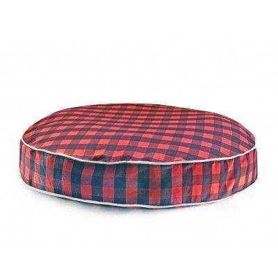 Olive Buffalo Plaid Dog Bed L Waggo Dog Bed Designer Dog Beds Dog Bed Luxury