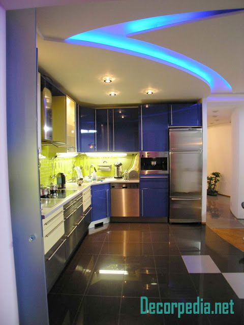 Kitchen Pop Design Pop False Ceiling Design For Kitchen With Led Lights Kitchen Ceiling Design Pop False Ceiling Design Pop Ceiling Design