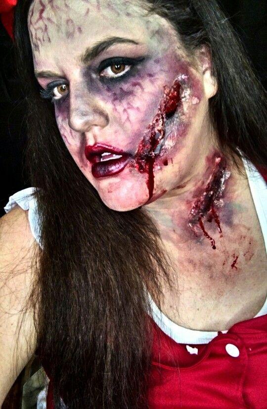 Halloween, makeup, sfx, special effects, zombie, nurse, costume ...