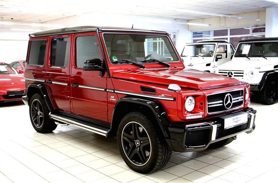 Tomato Red Mercedes Benz G63 Amg Available In The Market With
