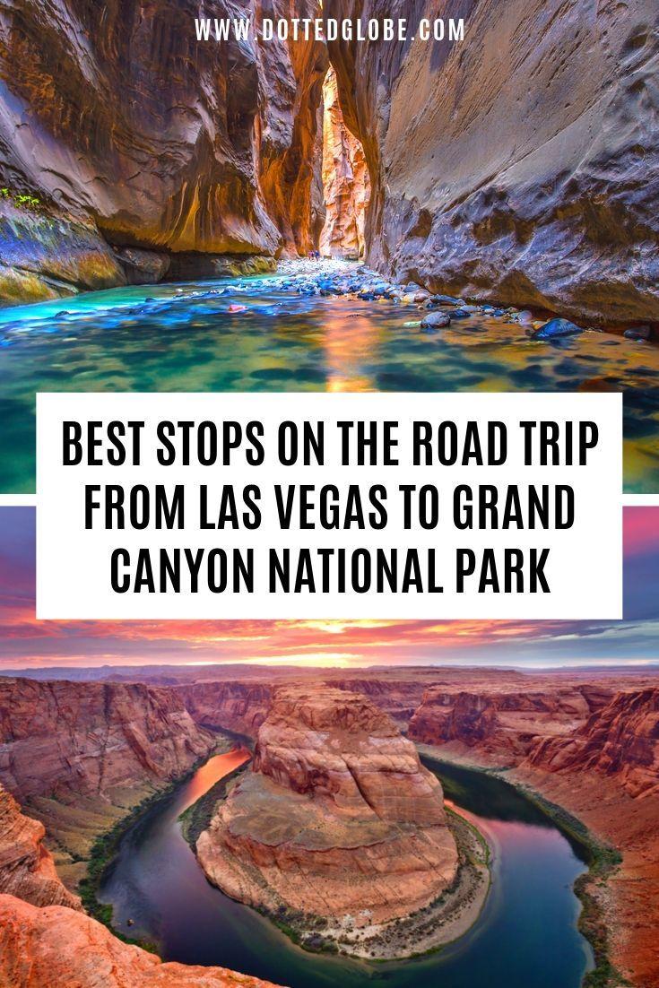 Zion Bryce Grand Canyon National Parks Road Trip - 7 Day Itinerary #grandcanyon