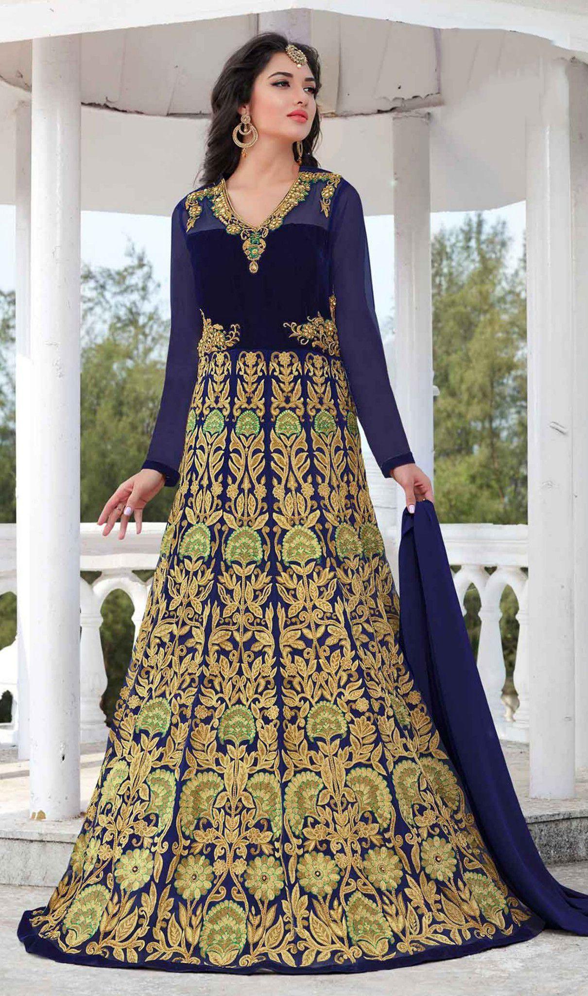 أحدث وأجمل موديلات الفساتين الهندية قطع أصلية مستوردة من