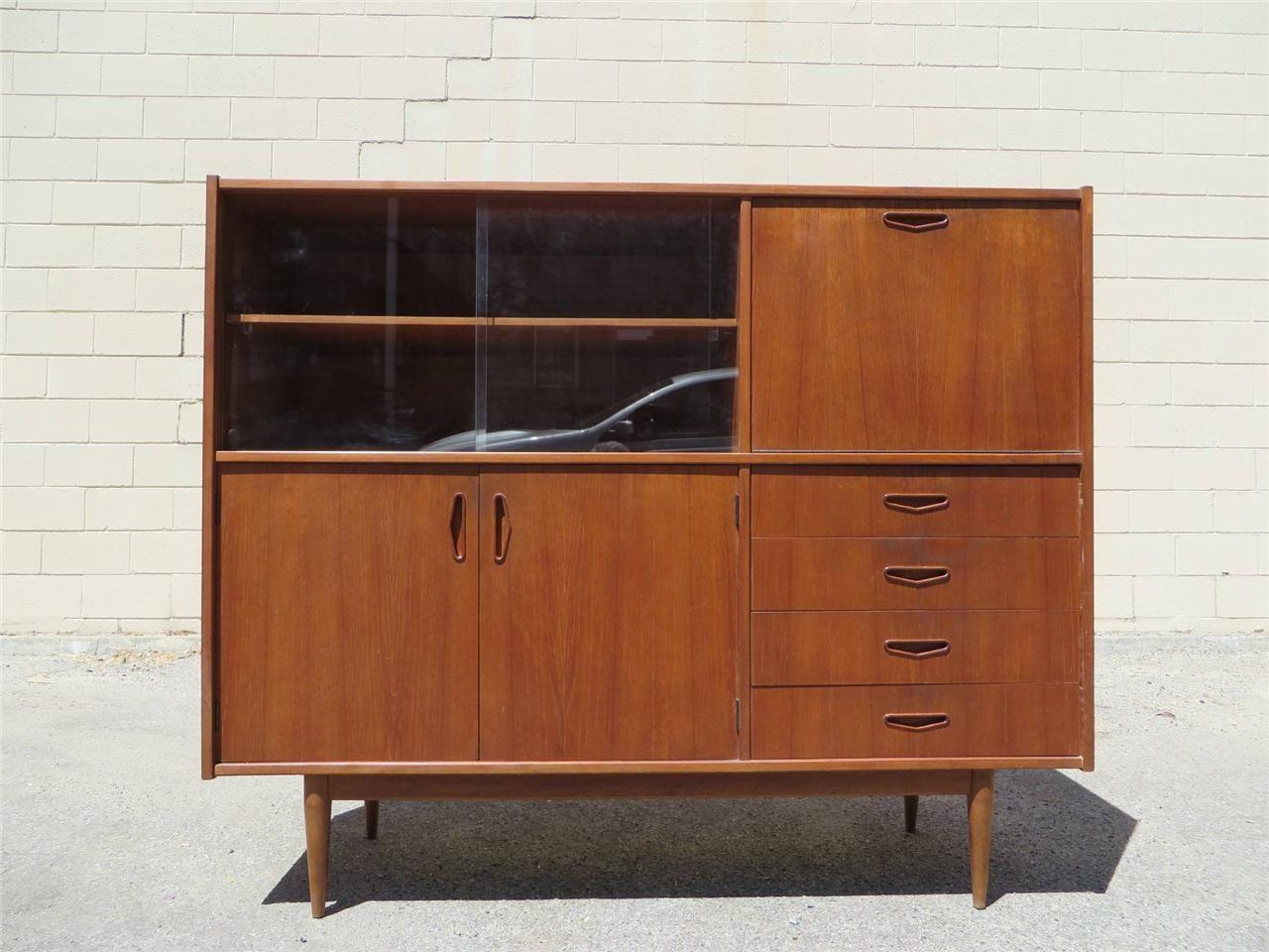 "RETRO 1960's SIDEBOARD DISPLAY DRINKS CABINET""PARKER ERA"" fab furniture Pinterest Drinks"