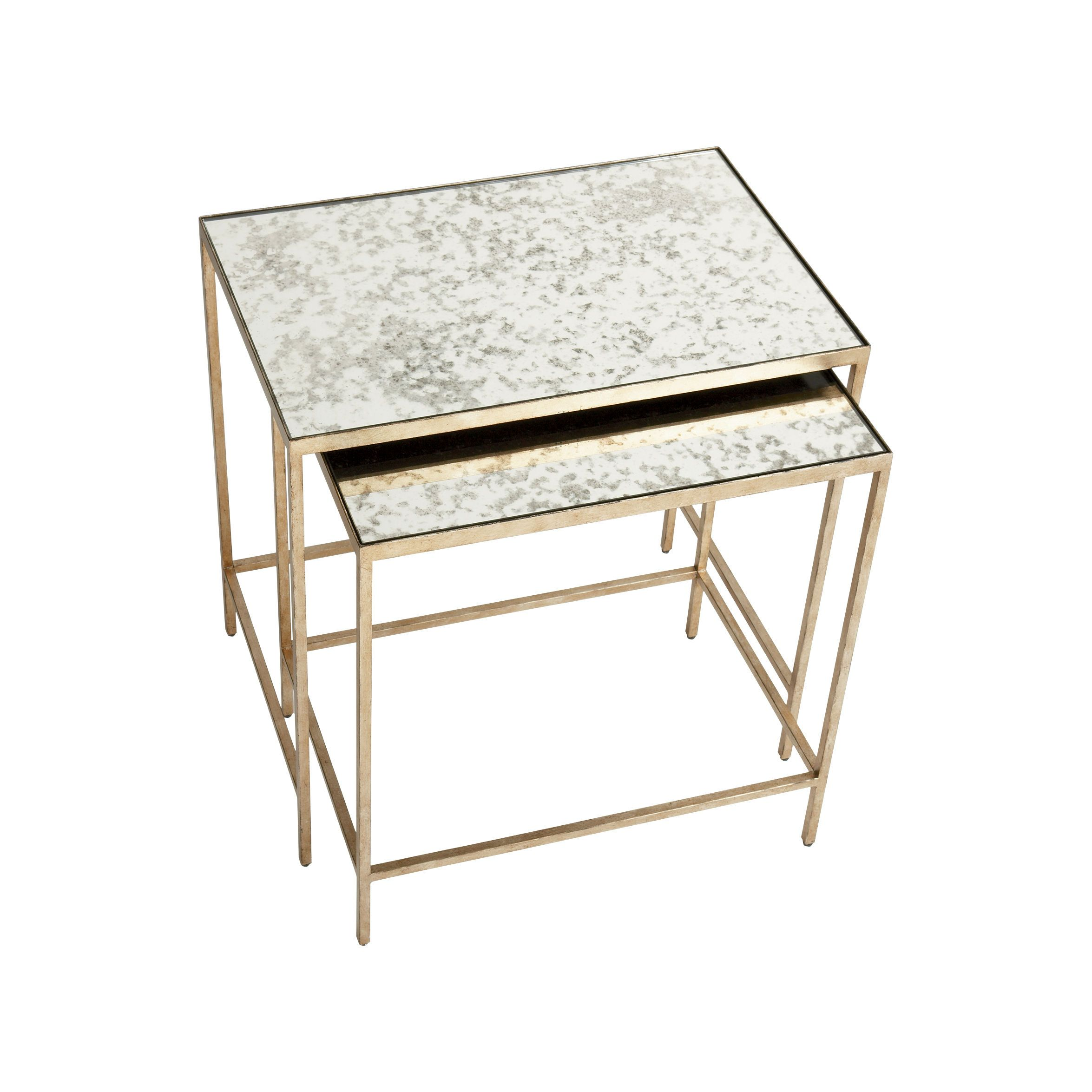 Silver end tables. Zachary Nesting End Tables - Ethan Allen US ...