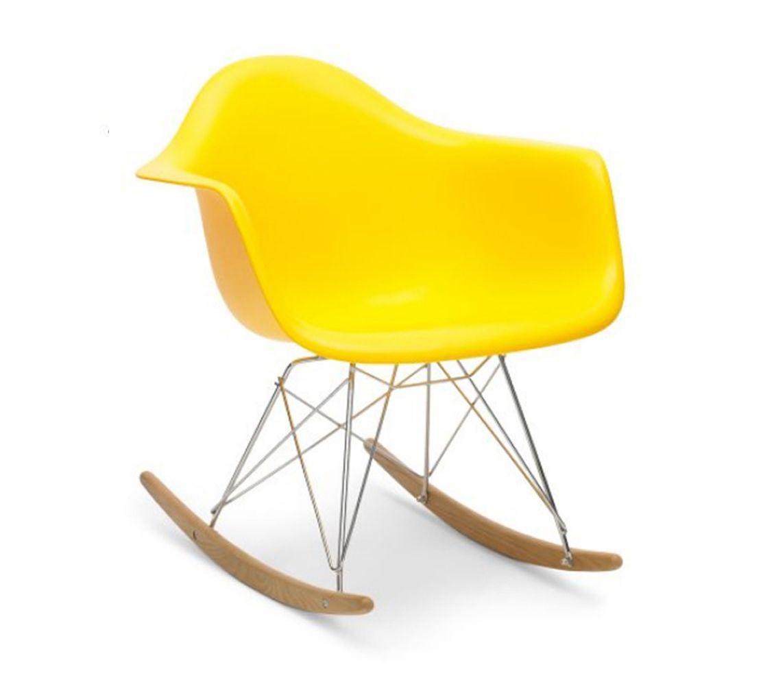 Mitchell U0026 Eames Style RAR Rocking Chair   Yellow