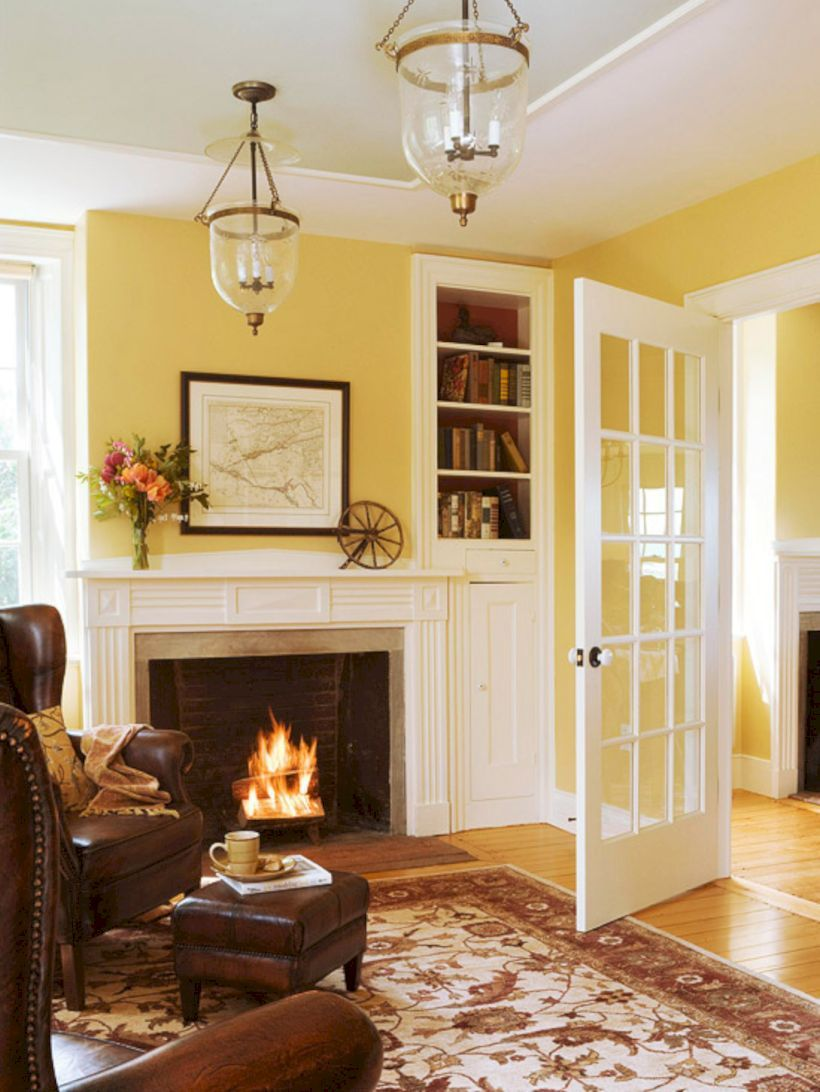 50+ LIVING ROOM PAINT IDEAS WITH BROWN FURNITURE | Pinterest ...