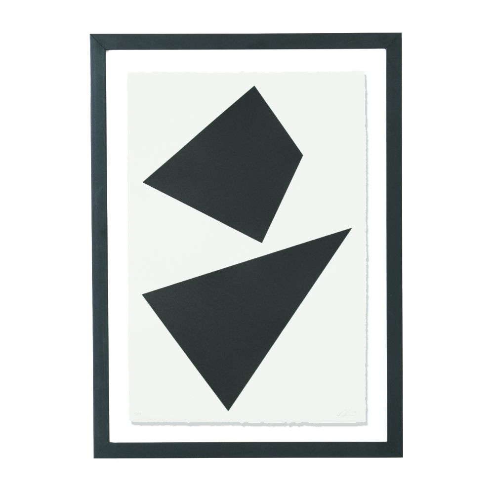 """A signed and editioned minimalist screenprint by LA-based contemporary artist Anna Ullman – exclusive to TRNK."