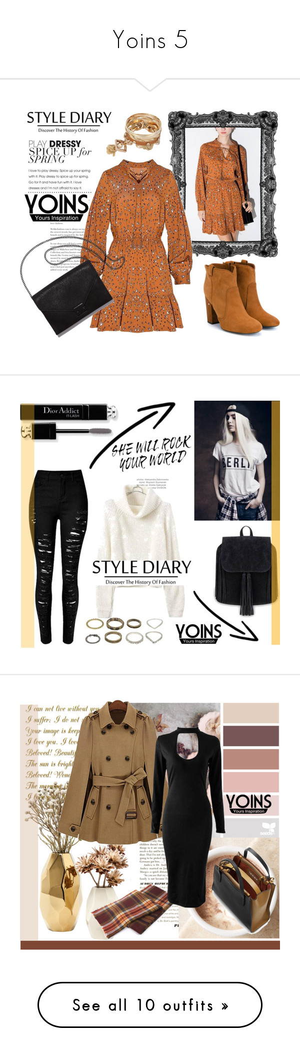 """""""Yoins 5"""" by lejlamoranjkic ❤ liked on Polyvore featuring Laurence Dacade, Loeffler Randall, yoins, Christian Dior, Nate Berkus, Marni, Chanel, Accessorize, Hermès and Forever 21"""