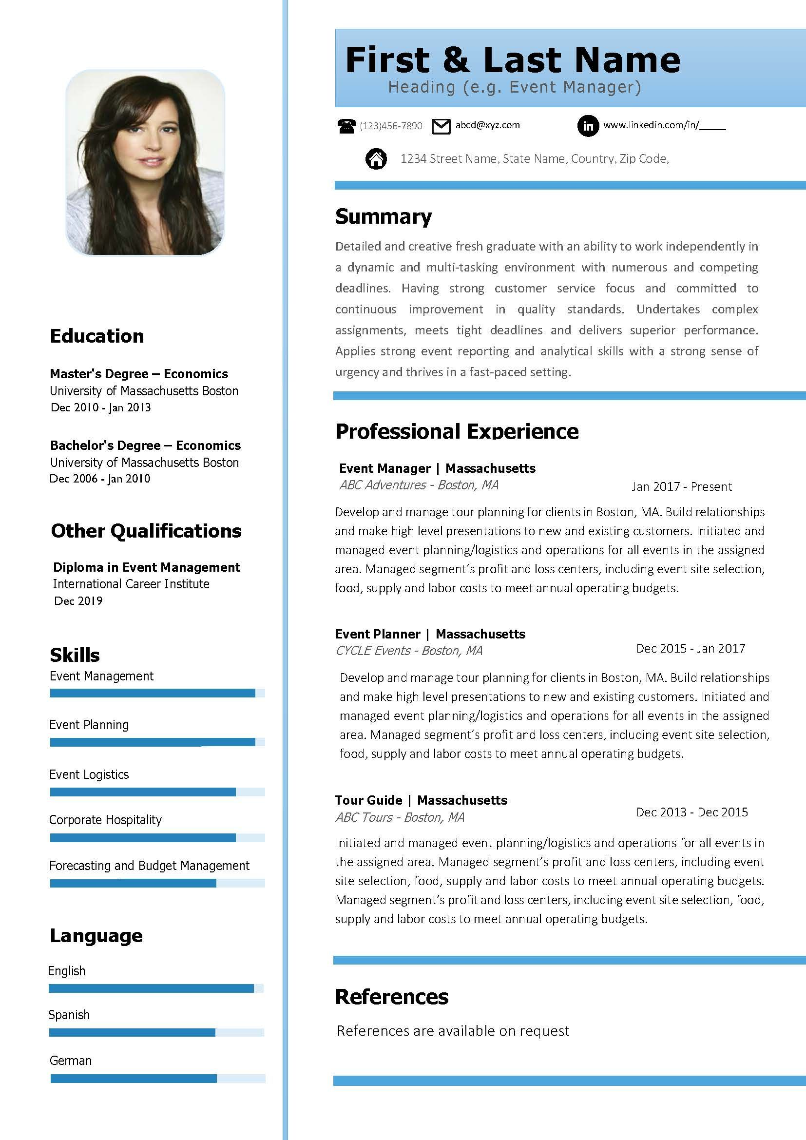 karar45 I will build or modify resume, cv, cover letter