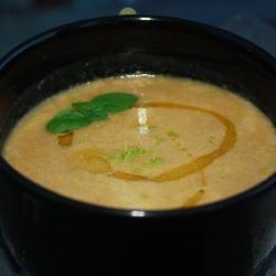 Sopa de lentilha, limão e gengibre @ allrecipes.com.br