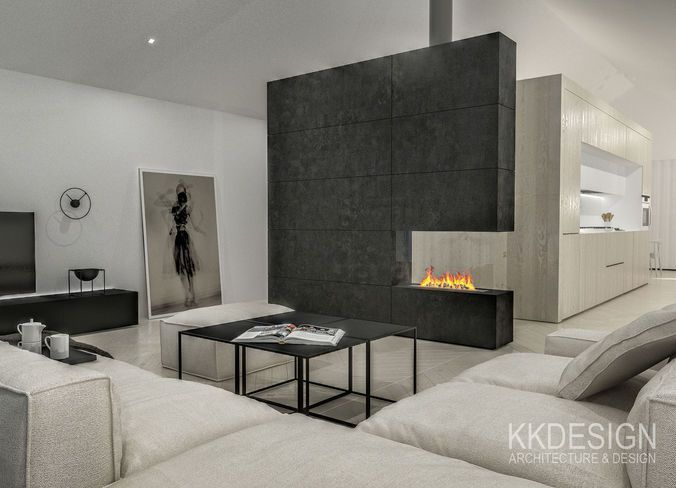 Scandinavian Full Interior 3d Model With Images