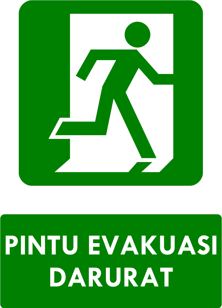 Dasar Dasar Perancangan Sarana Evakuasi Darurat Ahli K3 Umum Pendidikan Sign Desain Logo