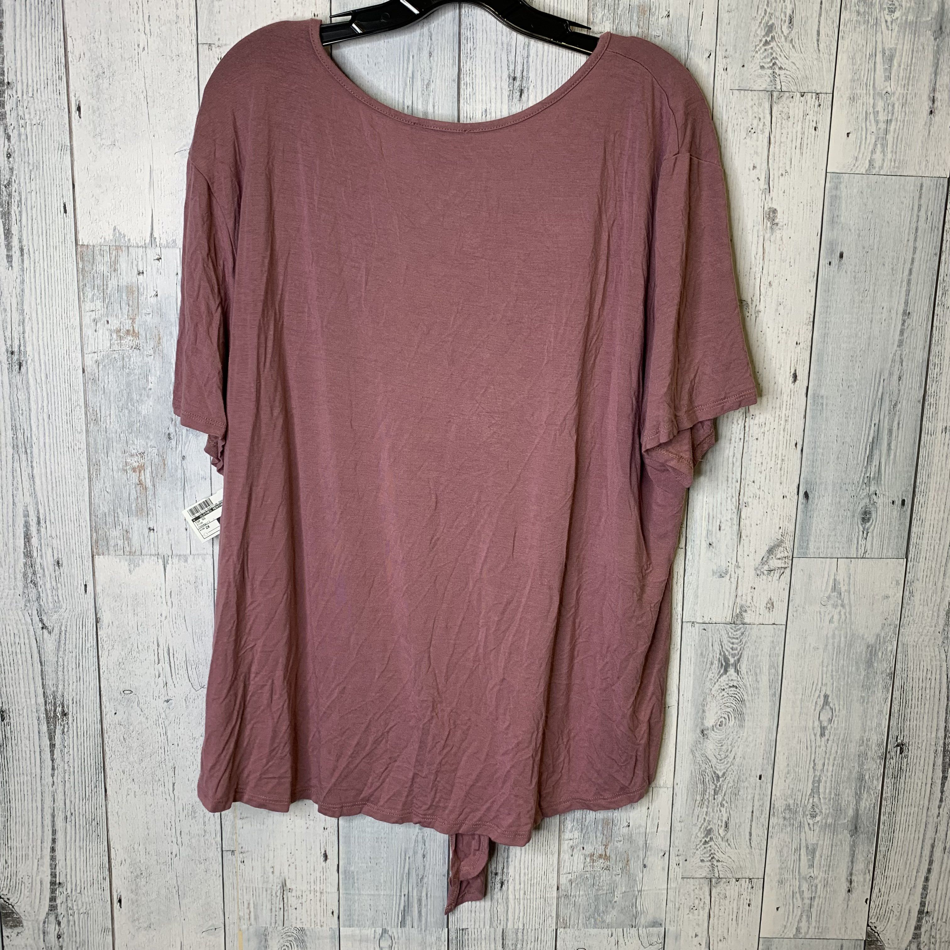 Top Short Sleeve By Homegirl  Size: 2x