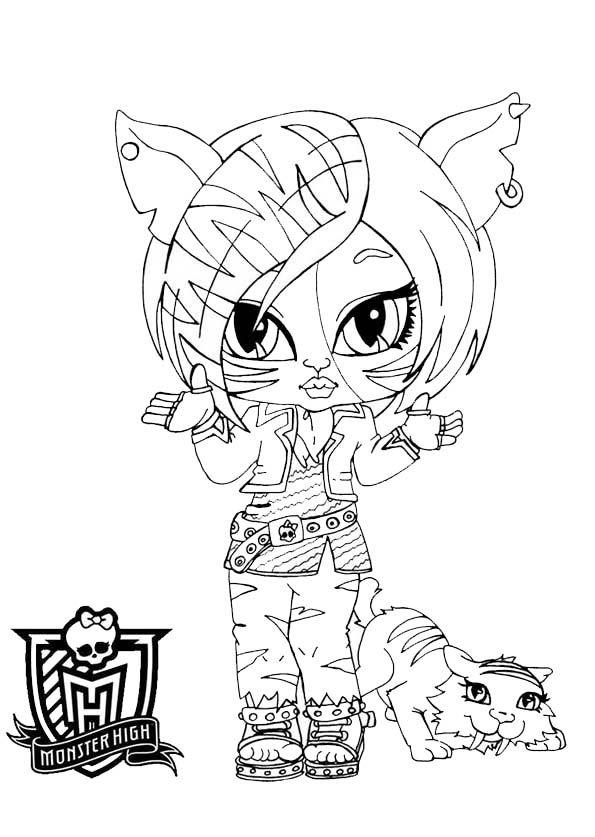 Malvorlagen Monster High Baby | My blog