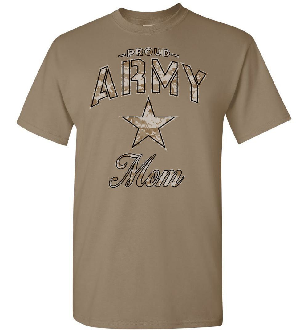 Proud Army Mom Camo T-Shirt