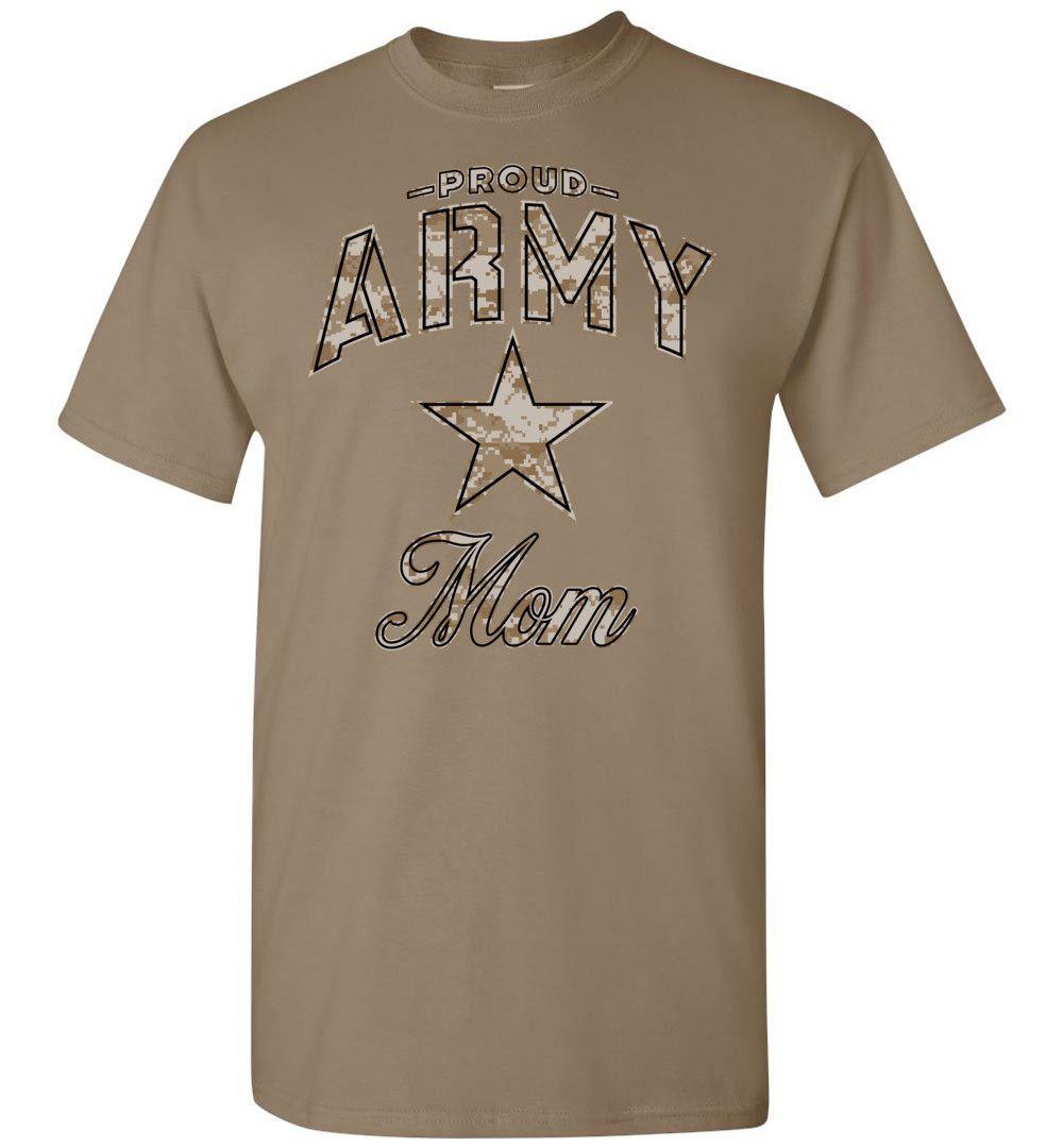 Proud Army Mom Camo T-Shirt