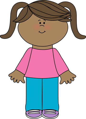 cute little girl yay cute free clip art tot school activities rh pinterest com free girl clipart images free clipart girl scouts