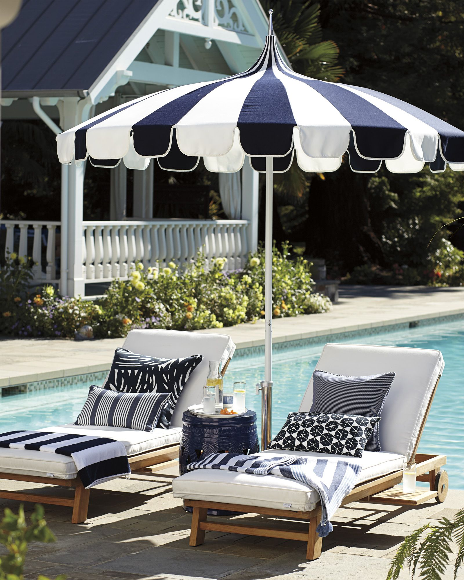 Terrific Perennials Cabana Stripe Pillow Cover In 2019 Charleston Gmtry Best Dining Table And Chair Ideas Images Gmtryco