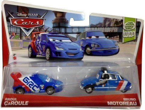 Disney Pixar Cars Raoul Caroule And Crew Chief Diecast Vehicle 2
