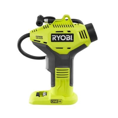 green home tools ryobi 18 volt one power inflator tool only ryobi tools life