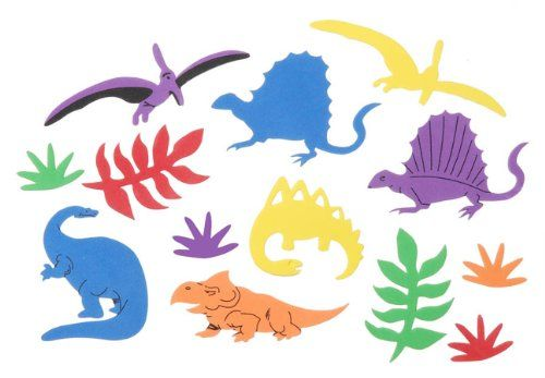 Foam Stickers 5-Ounce, Dinosaur Darice
