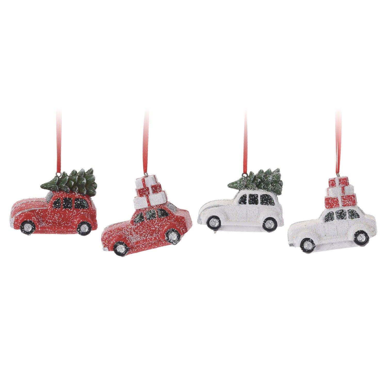 Hangdeco Auto Kerstsok Decoratie Kerstboom