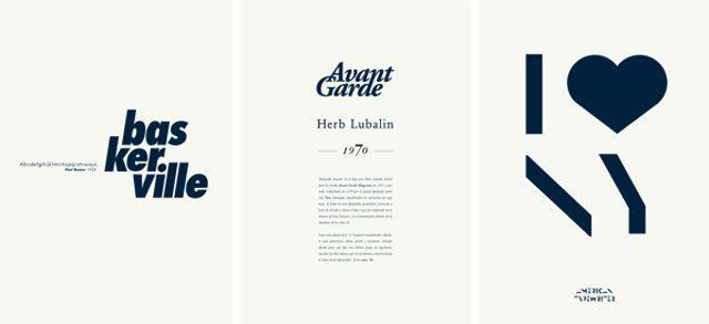 Typography vs Logotypes