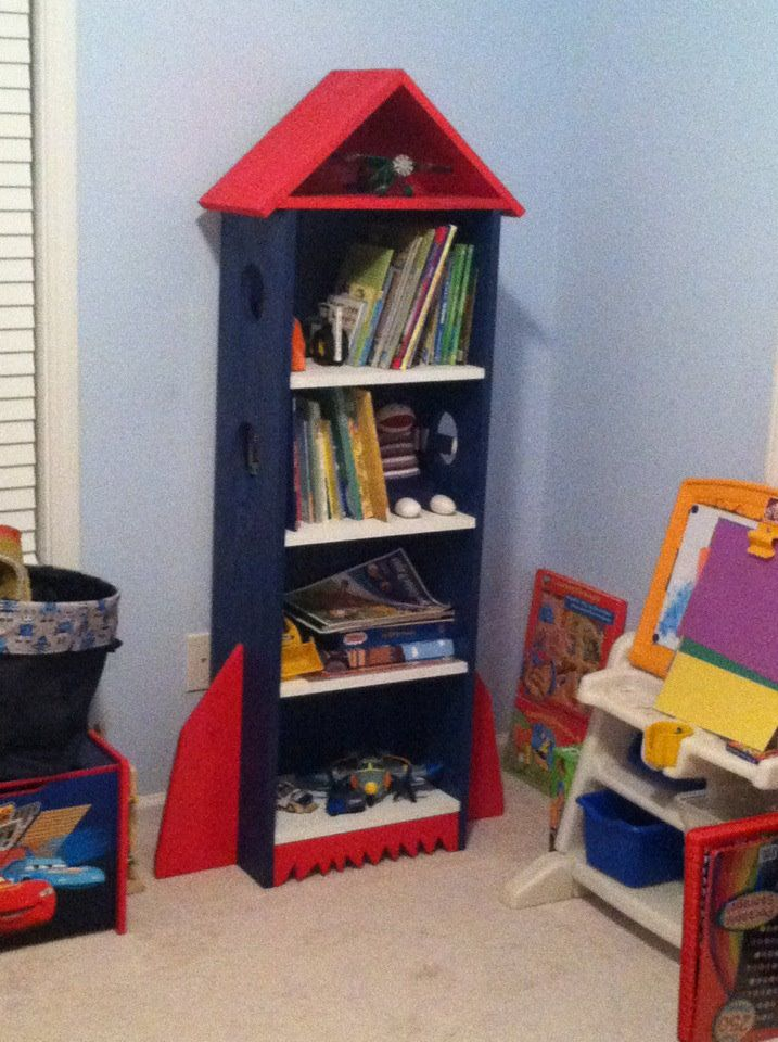Rocket book case do it yourself home projects from ana white rocket book case do it yourself home projects from ana white space bedroom ideas pinterest ana white nursery and babies solutioingenieria Gallery