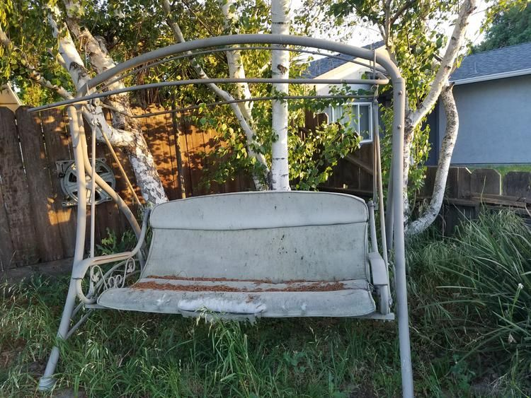 walmart model rus4280 patio swing