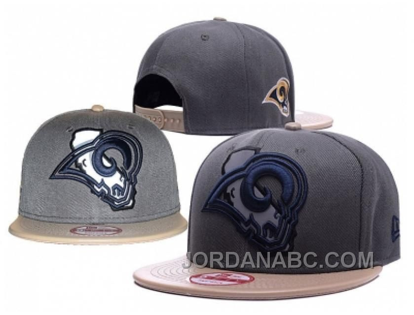 f6c7ae7a391 NFL Los Angeles Rams Stitched Snapback Hats 606 Authentic