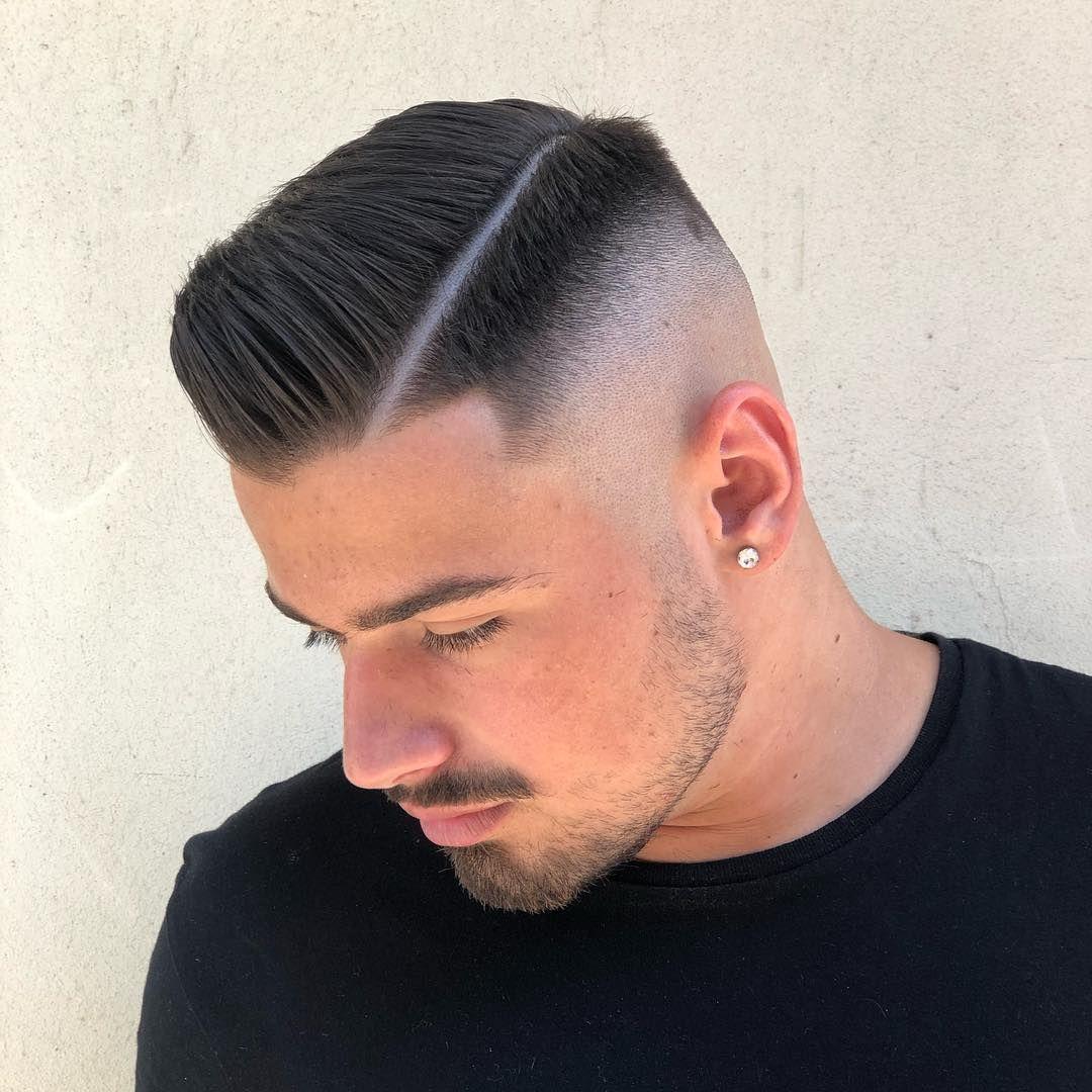 Giuseppediviesti On Instagram Clean Fade Chapeaubarbershop Giuseppediviesti Fade Haircu Mens Haircuts Fade Haircuts For Men Curly Hair Men