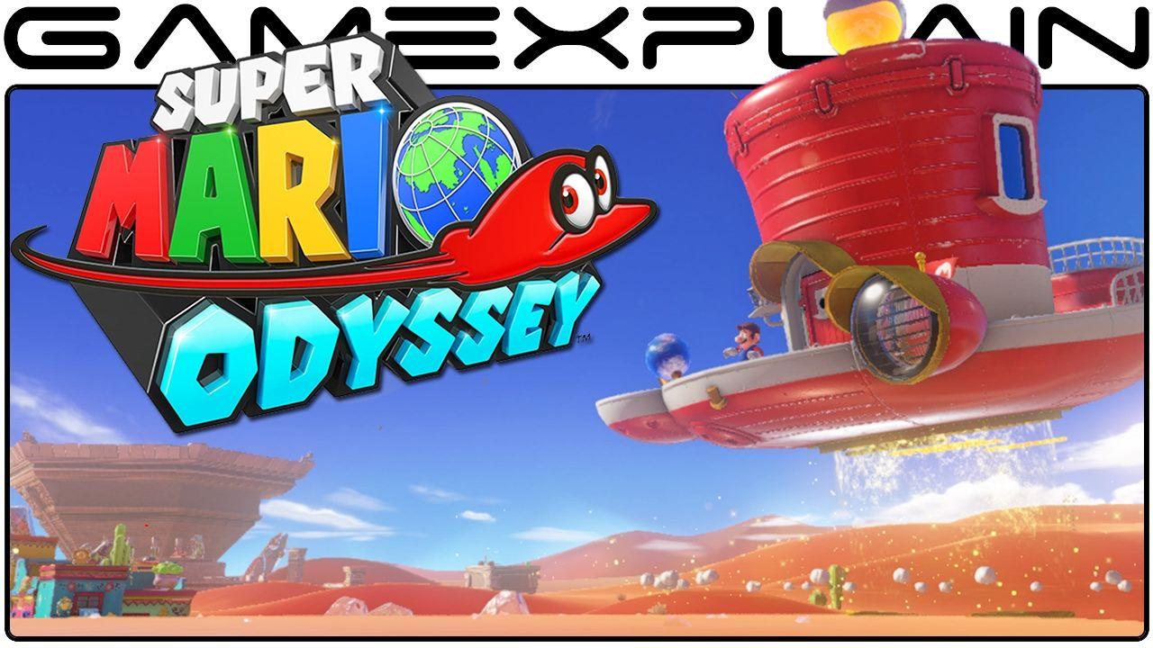 Super Mario Odyssey - Secrets of Mario\'s Airship (Analysis Excerpt ...