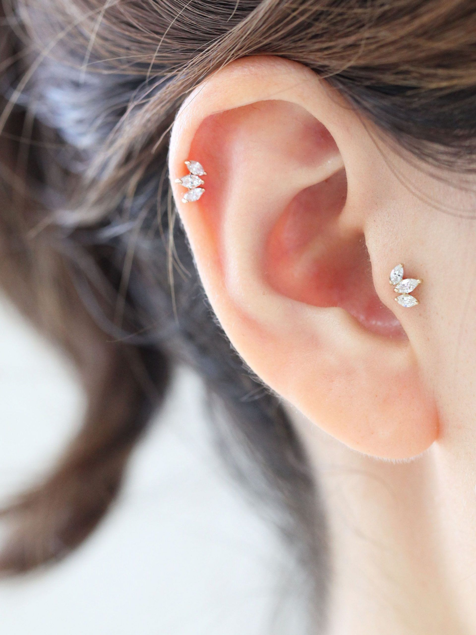 Piercing Cartilage Tragus Or 14 Carats
