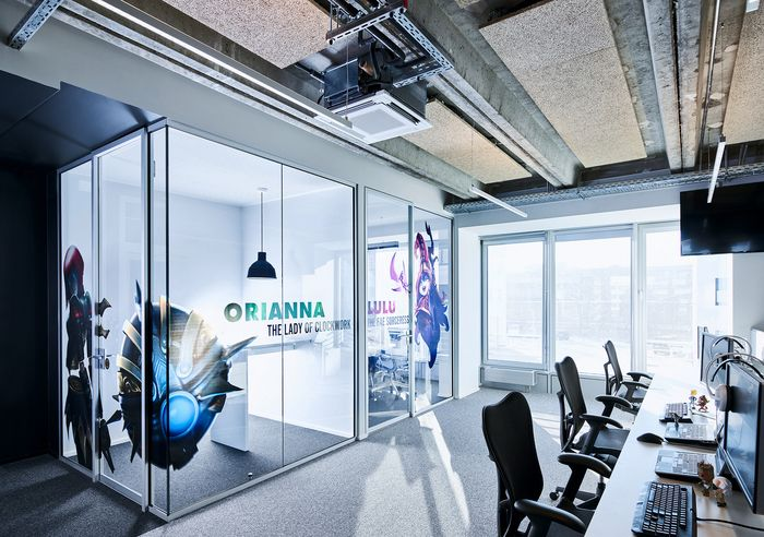 office design companies office. American Video Game Company Offices - Berlin Office Snapshots Design Companies E