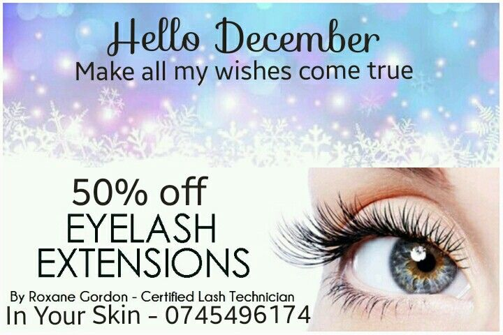 50% off #eyelash #extensions #eyelashextensions #durban at Mt Edgecombe County Club www.inyourskin.webs.com Call Roxane on 0745496174