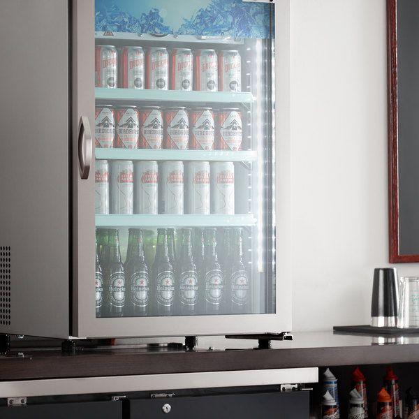 Avantco Crm 7 Hc Stainless Steel Countertop Display Refrigerator With Swing Door 4 1 Cu Ft In 2020 Display Refrigerator Countertop Display Stainless Steel Countertops