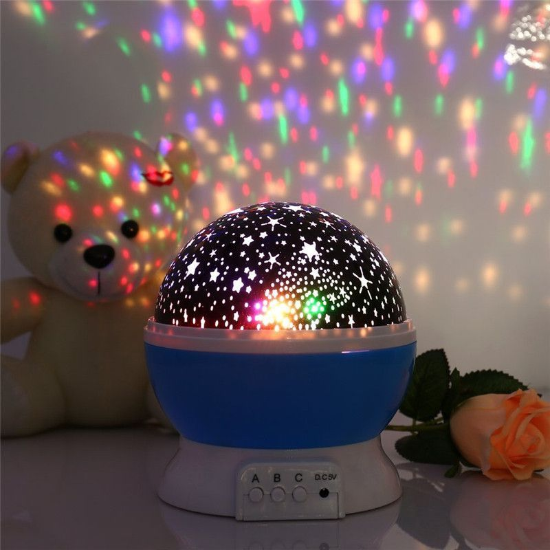 New Romantic New Rotating Star Moon Sky Rotation Night Projector Light Lamp Projection With High Quality Kids Bed Lamp With Images Night Light Projector Night Light Lamp Night Light