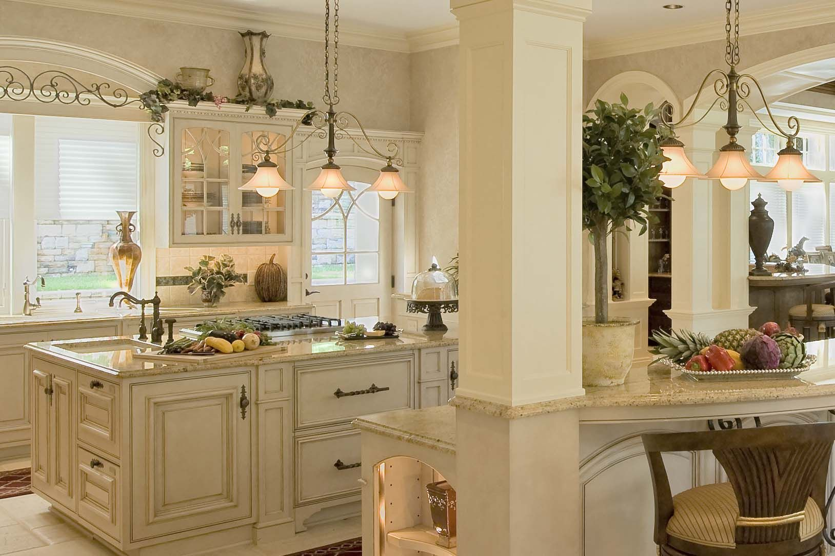 French Colonial Kitchen Kitchen Design Decor Classical Kitchen