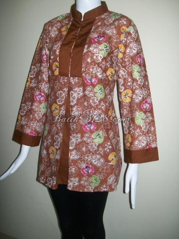Model Baju Batik Wanita Untuk Kerja Terbaru Januari 2014