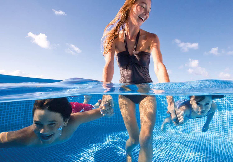 Intex 8 5 X 5 3 X 2 13 Rectangular Frame Above Ground Backyard Swimming Pool Splash Swimming Pool Pool Swimming Pools