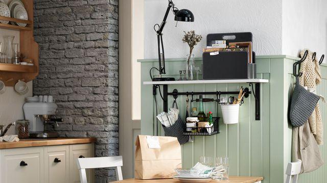 Rangement Gain De Place Idées Pour La Cuisine La Chambre - Meuble de rangement cuisine ikea pour idees de deco de cuisine