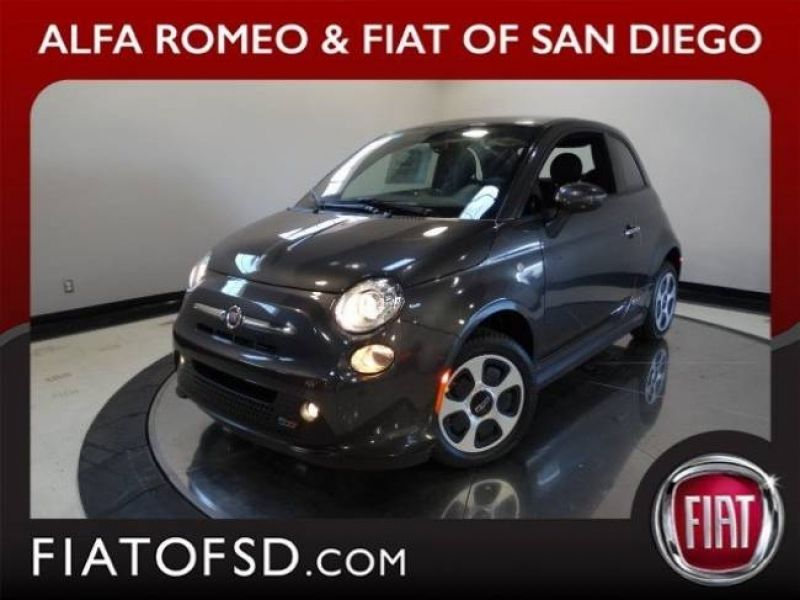 Fiat San Diego >> New 2017 Fiat 500e Battery Electric For Sale San Diego Ca For