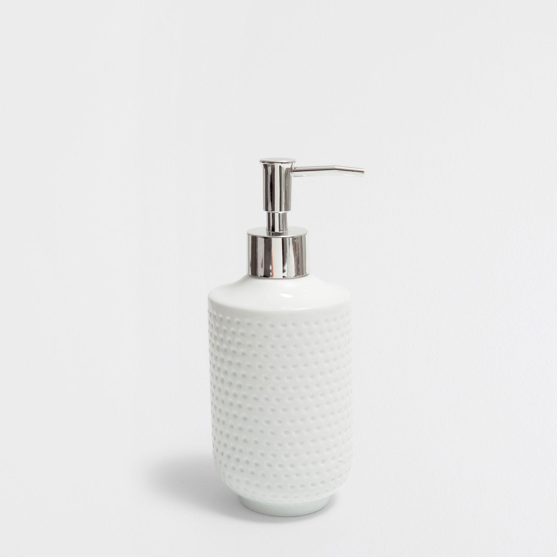 Image of the product Raised ceramic dispenser | soap dispenser ...