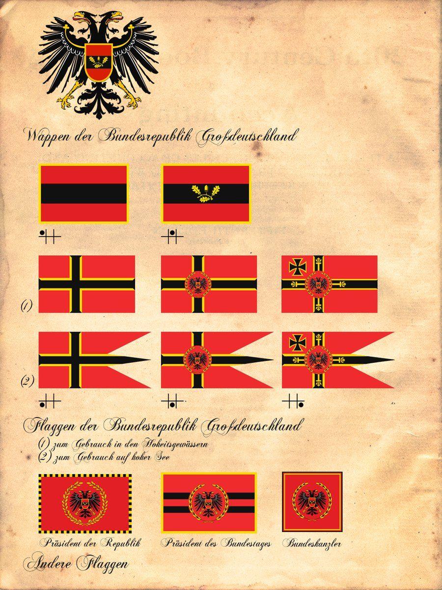 Alternate German flags by fabrondi | Dieselpunk | Best ...